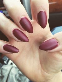 Best 25+ Matte maroon nails ideas only on Pinterest ...