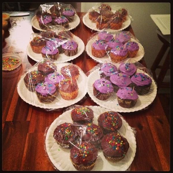Treats for Cake Walk University of St Thomas Relay For