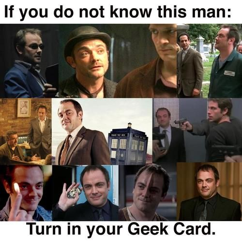 Mark Sheppard: Hes everywhere! All the way back to Season 1 of The X-Files :)