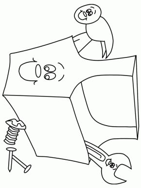 Coloring pages, Coloring and Tool box on Pinterest