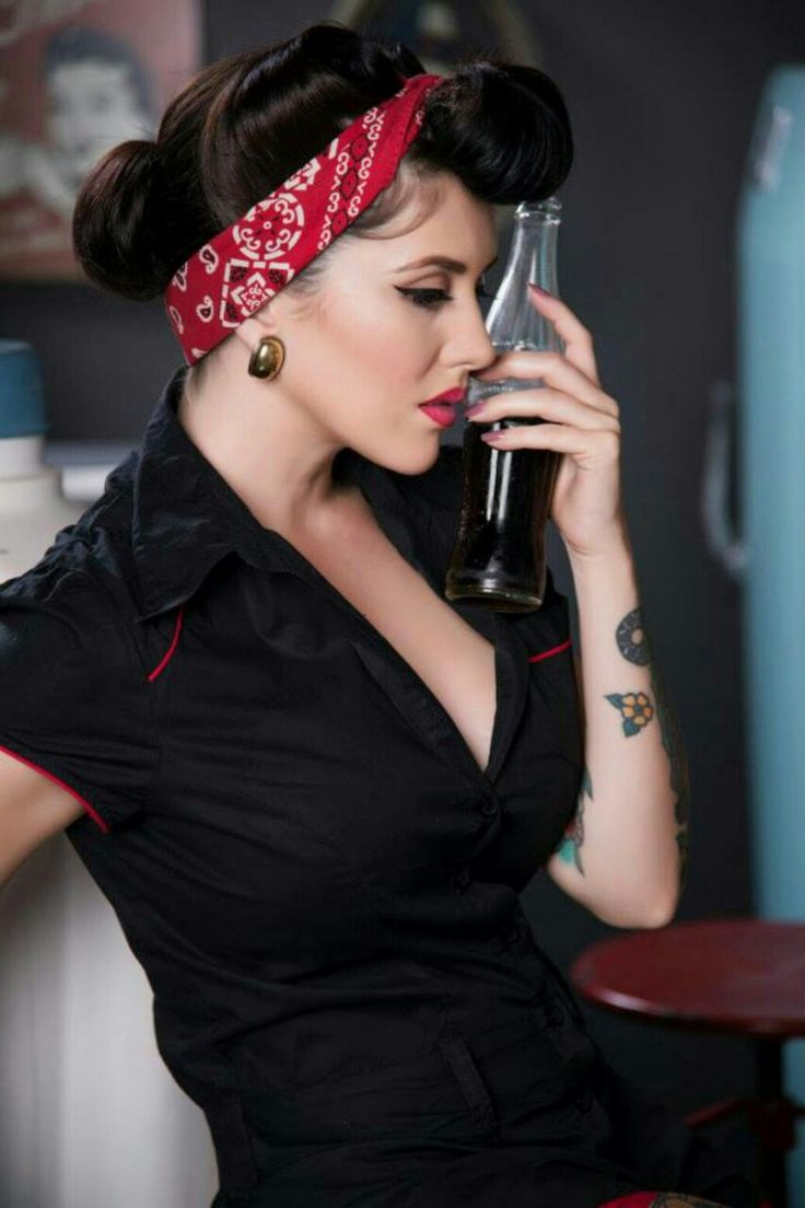 Rockabilly Hairstyles Style  Pinups & Rockabilly