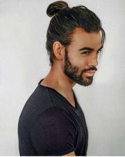 1000 ideas men ponytail