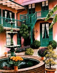 187 best images about French Quarter Courtyard on