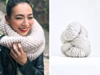 25+ best ideas about Chunky knit scarves on Pinterest ...
