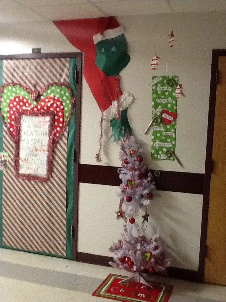 Office Door: Grinch Office Door Decorations