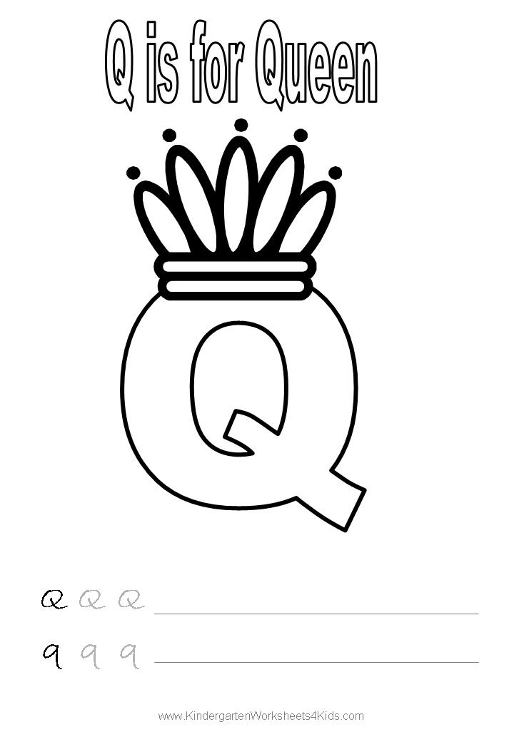 13 best images about Letter Q Worksheets on Pinterest