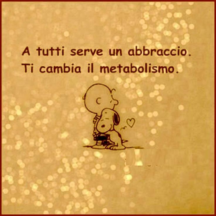 #hug #abbraccio #love #friends Peanuts' S Philosophy