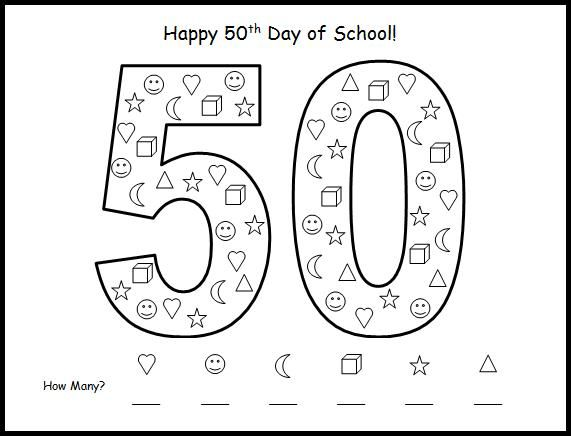 17 Best images about 50th Day of School on Pinterest
