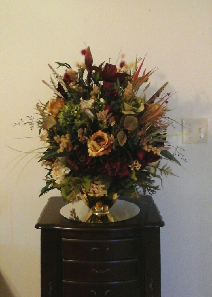 Elegant XL Floral Arrangement, Floral Centerpiece