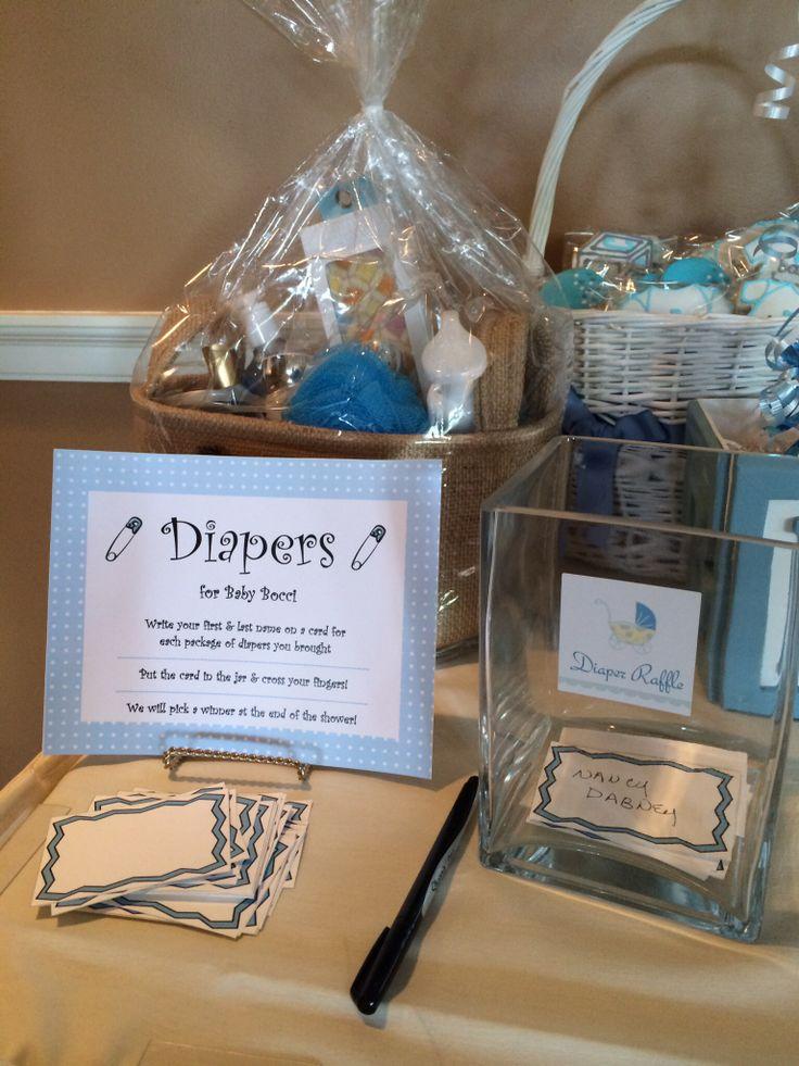 Baby shower diaper raffle bath body works gift basket
