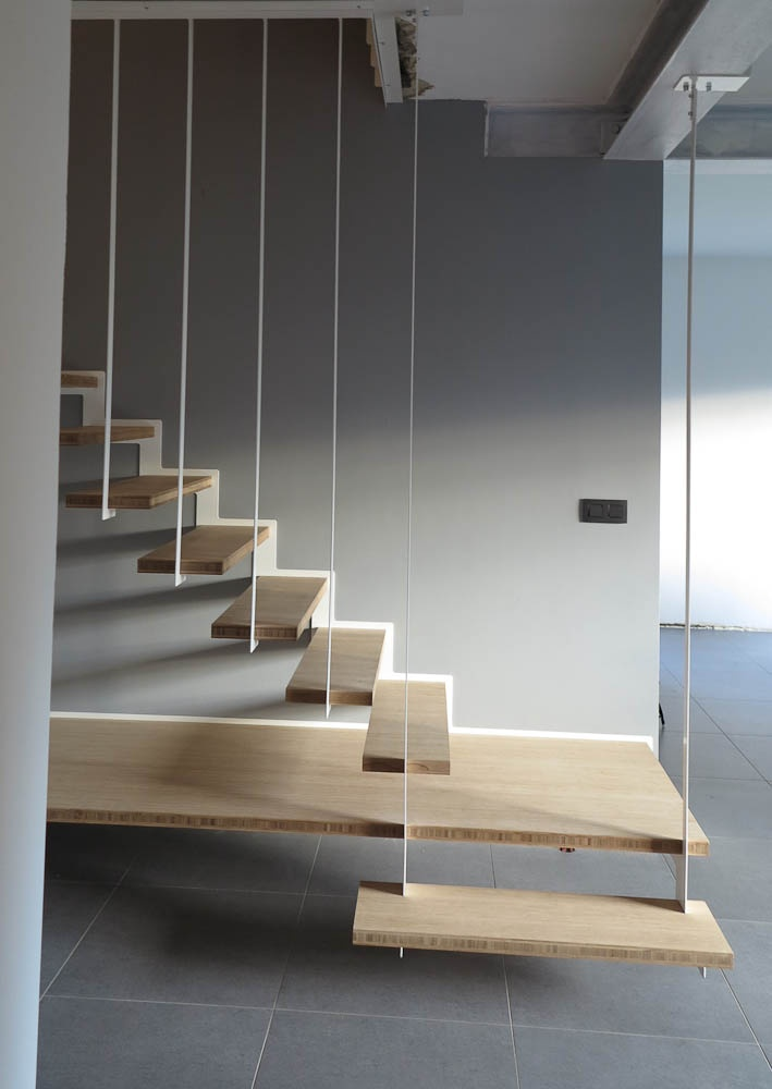 Suspended staircase Up Stairs by Joa  Up Stairs  Escalier Up  Pinterest  Staircases and
