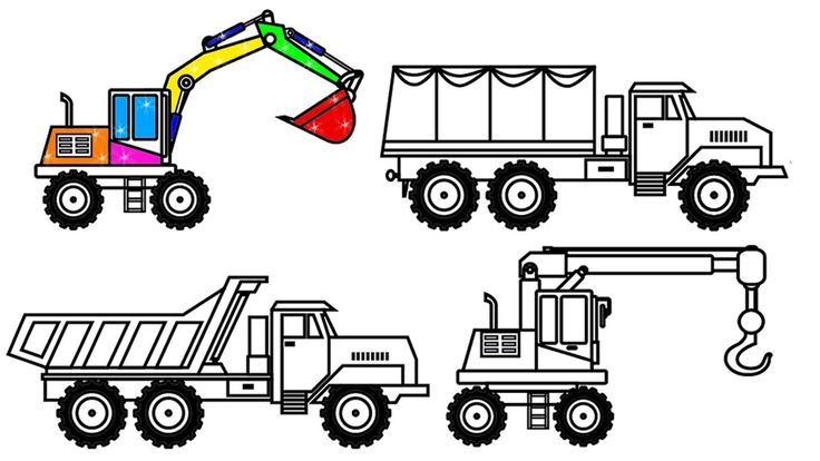 25+ best ideas about Truck Coloring Pages on Pinterest