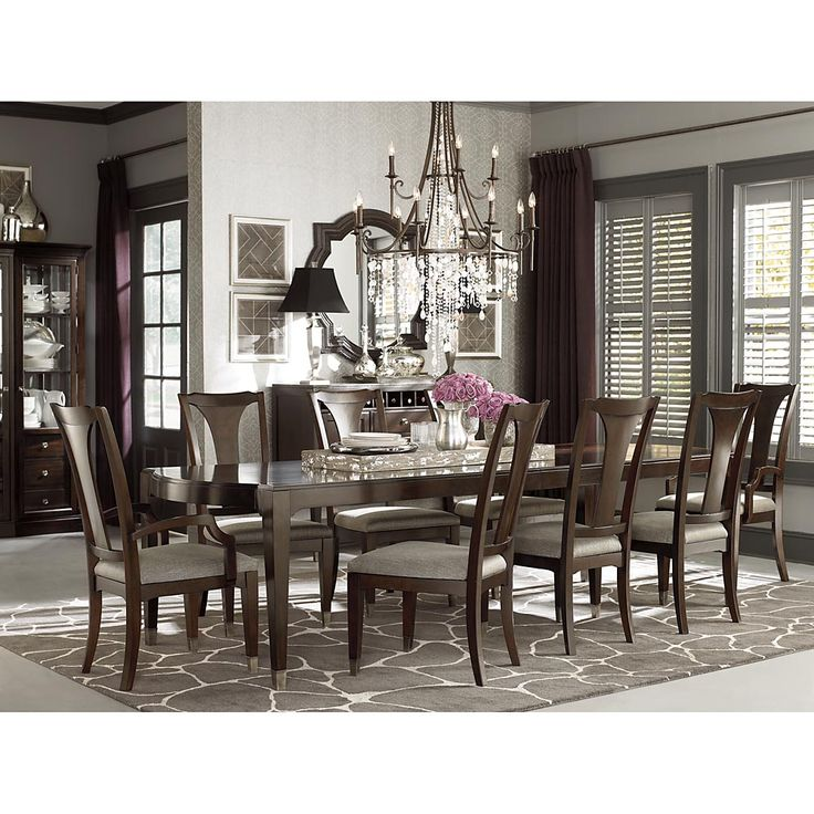 72 best images about Dining Furniture on Pinterest  Tables Oval dining tables and Round