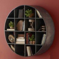 Round metal wall mount shelves | Things for My Wall ...