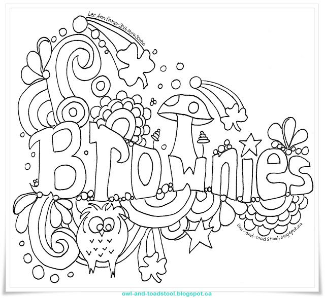1000+ images about Brownie Crafts on Pinterest