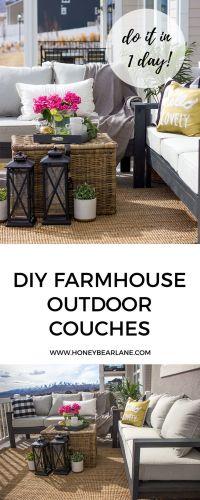 25+ best ideas about Diy outdoor furniture on Pinterest ...