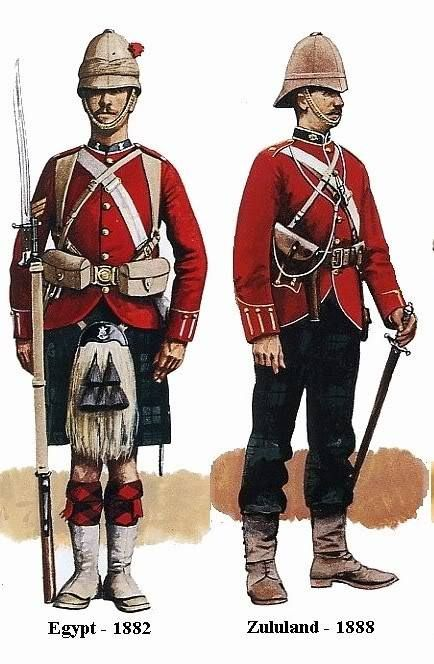 Colonial British Army Ranks