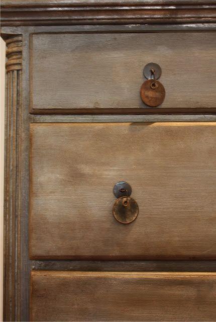 Faux Zinc Dresser Tutorial Using Chalk Paint Amp Metallic