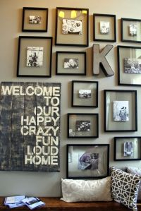 25+ best ideas about Family Picture Walls on Pinterest ...