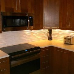 Contemporary Kitchen Backsplash Frigidaire Appliances Reviews Our With A Modular Tiles