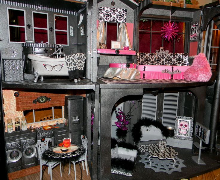 The 57 Best Images About Doll House Ideas On Pinterest Monster