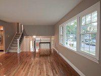 Gleaming hardwood floors plus a gorgeous paint color in ...