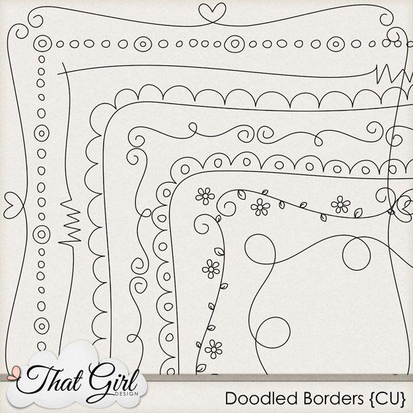 15 best images about Doodle Frames & Border Labels on