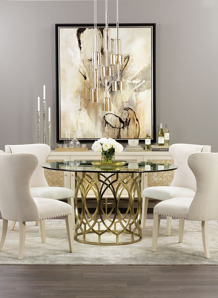 Best 20 Glass dining room table ideas on Pinterest  Glass dining table Glass dining room sets