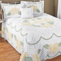 Chenille Twin Bedspread Emily in Spring Big Book Pt 2 from