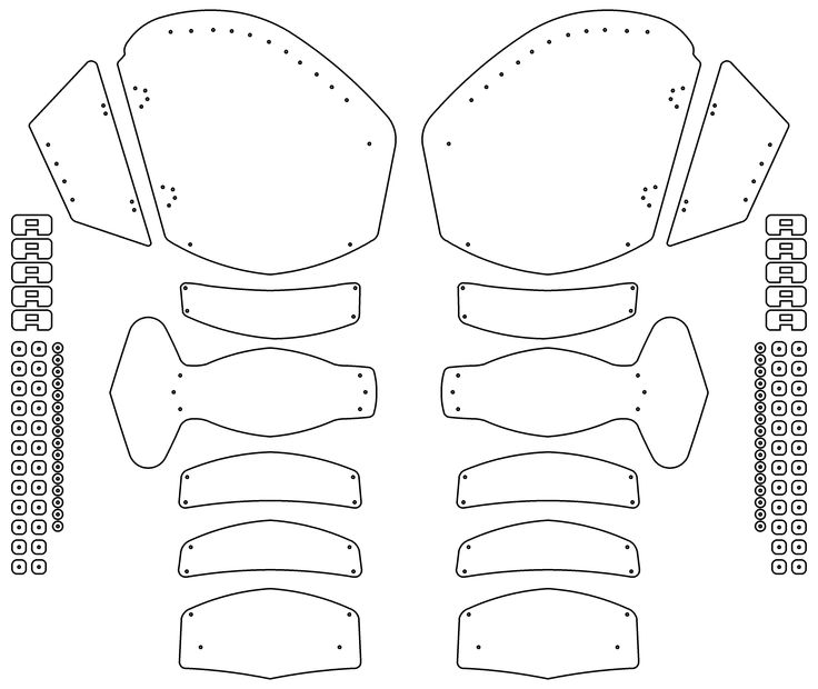 43 best images about Costume Template / Pattern Pepakura