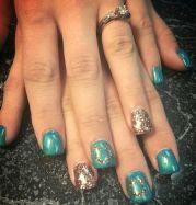 horse shoe nails ideas