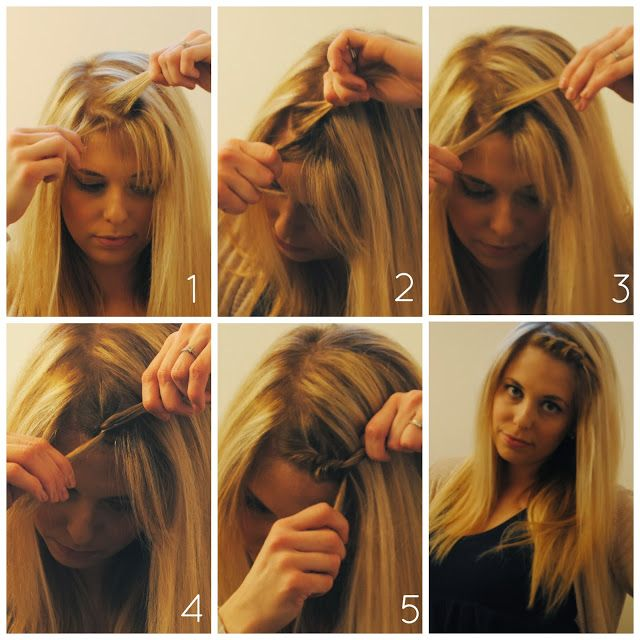 How To Style Your Bangs When Growing Them Out Twist Braid