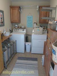 Salty Cinderella: Laundry Room organization reveal ...