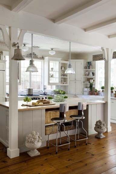 beach cottage style kitchens Best 25+ Beach cottage kitchens ideas on Pinterest | Beach