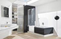 Walk-in tub/shower combination   BATH- ACCESSIBILITY ...