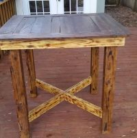 Pallet high top Bar Table/ Pub Table by ...
