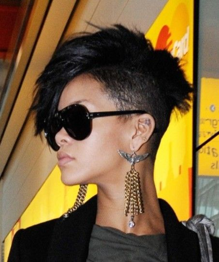 106 Best Images About Half Hawk Haistyles On Pinterest Side