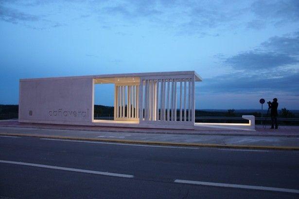 Intercity Bus Stop Shelter  ceroseis arquitectos  Archinect  Architect Sure  Pinterest
