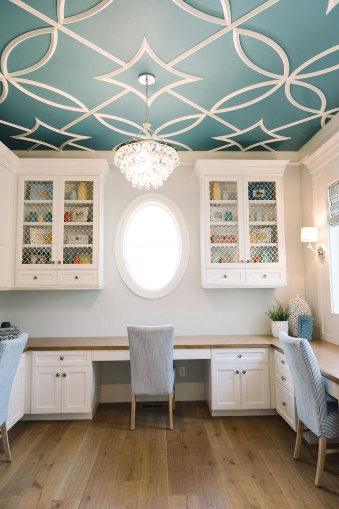 17+ best ideas about Painted Ceilings on Pinterest