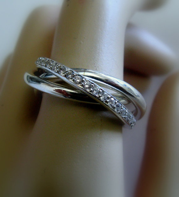 Cartier Infinity Love Ring Russian Wedding Ring By