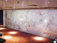 Glass wall covering doesn't compromise on light but offers ...