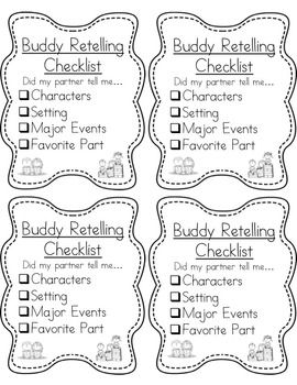 Retelling and Reading on Pinterest