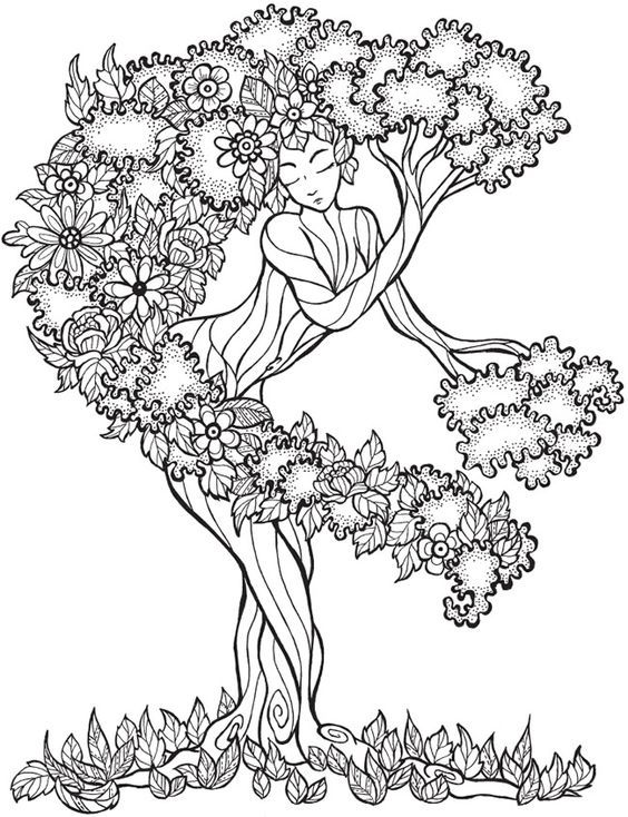 1000+ images about coloring for grown-ups on Pinterest