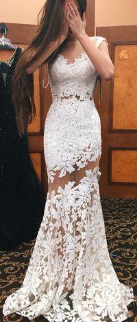 Best 25+ White prom dresses ideas on Pinterest