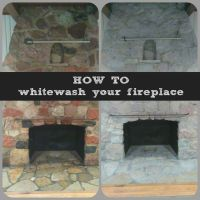 25+ best ideas about White Wash Fireplace on Pinterest ...