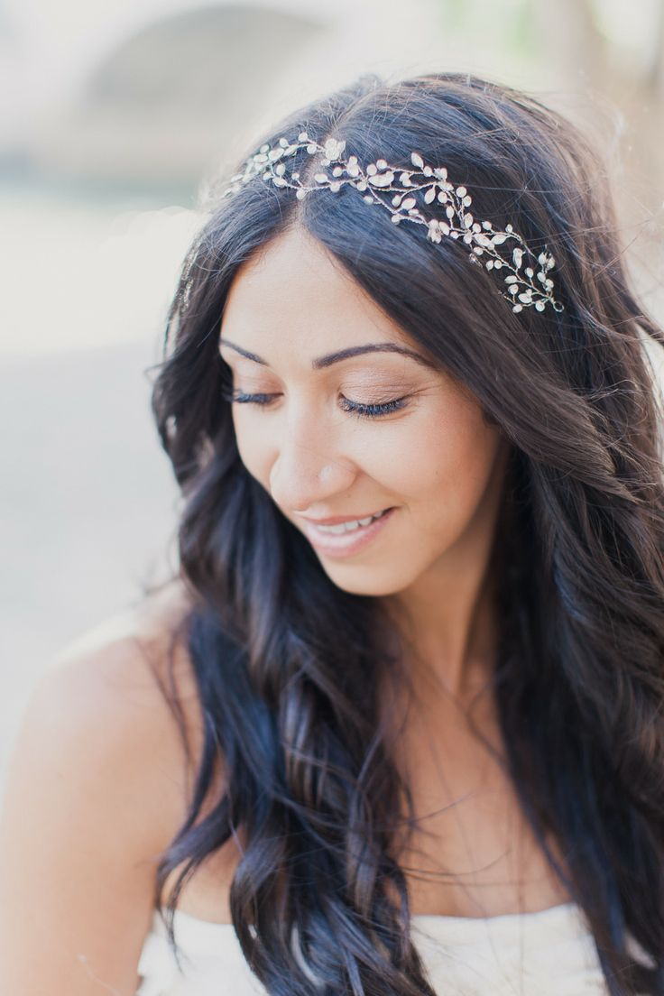 25 Best Ideas About Headband Wedding Hair On Pinterest Headband