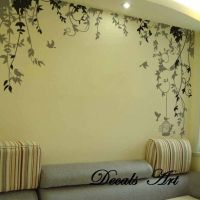 Vines -Vinyl wall sticker- wall decal- tree decals- wall ...