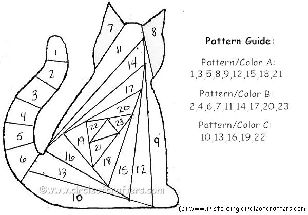 116 best images about Iris Folding Patterns on Pinterest