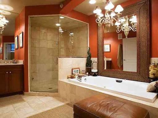 41 Best Images About Bathroom In Orange Color On Pinterest
