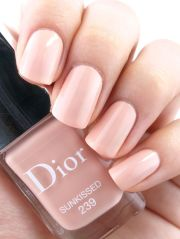 ideas peach nail